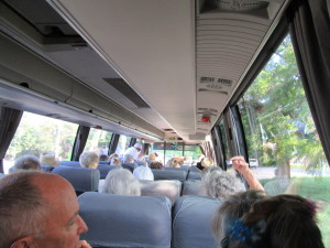 All the way to the back of the bus